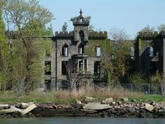 Abandoned island,  'Plum Island' I believe, sits in the middle of NYC