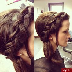 braid #pmtsmboro #paulmitchellschools #hair #love #beauty #inspiration #ideas #braid #braids #braided #sidebraid  http://styl.fm/item/1827064
