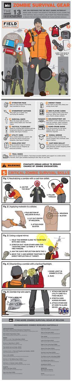 Zombie Infographic