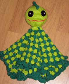 Dino Comfort Blnket pattern by Sandra Willoughby ~ free pattern