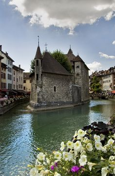 Cloud lovely  beautiful Annecy, France