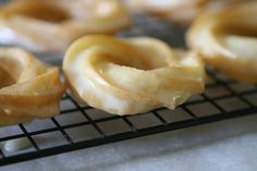 Homemade Crullers