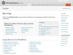 List of useful WordPress help and resources sites