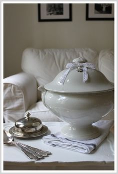 antique soup tureen