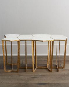 """Six-Piece+""""Lockhart""""+Side+Table+by+Regina-Andrew+Design+at+Horchow."""