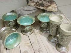 Mary Starosta Colo. Potter - nice cone 6 turquoise glaze