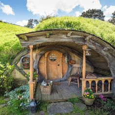 This is the retirement village I want to move to -- hobbitontours on Instagram