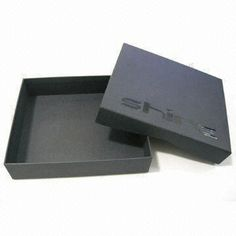 Luxury Packaging Box with Silicon Printed Logo Feature