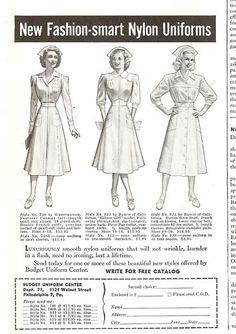 Vintage Nursing uniform add.