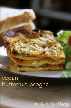 Vegan Butternut Lasagna by Namely Marly