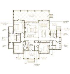 Palmetto Bluff Floor Plan