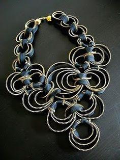 More amazing zipper jewelry artisans