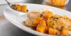 Pollo en salsa de durazno #CuidarseEsDisfrutar
