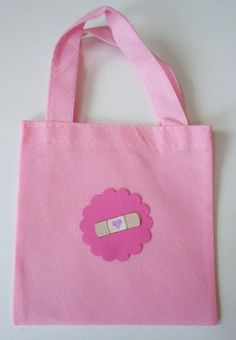 Doc McStuffins Party Favor Doctor Bags from accessory boutique on etsy