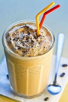 Why have ice cream when you can break out the blender and make a coffee milkshake?  Just add a cup of chilled, strong coffee, 5 or 6 scoops of vanilla ice cream, and a few teaspoons of chocolate syrup.  Blend them all together and add some chocolate shavings to finish it off!