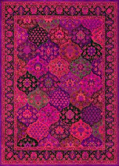 pink and purple rug I would die for you