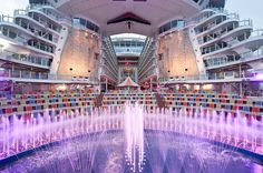 royal caribbean oasis of the seas | Royal Caribbean - Oasis of the Seas - Aqua Theatre | Flickr - Photo ...