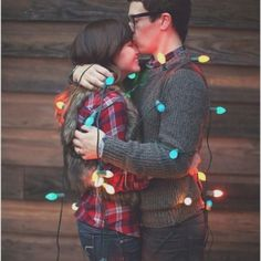 First Married couple Christmas Card.  #sodoingthis #cute couple christmas cards, married couple christmas card, holiday cards, first christmas, christmas lights, christmas card photos, christmas card pictures, christmas photos, xmas cards