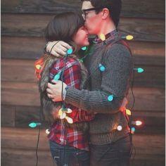 First Married couple Christmas Card.  #sodoingthis #cute