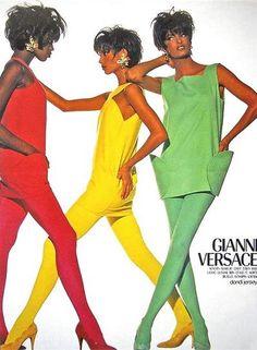 1980s, Versace ad
