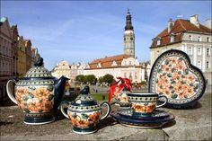 Boleslawiec, Poland - home of some of the most beautiful pottery on earth!