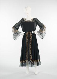 1925 Lanvin Evening Dress.