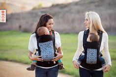 @BabyBeco Carrier's cross strap, award-winning design combines proper ergonomics with versatile features. #babygear