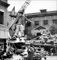 Behind The Scenes photos from Back To The Future series