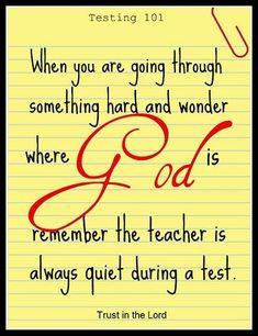 For all faiths...