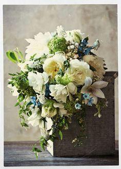 Sullivan-Owen-for-BHLDN-White-Blue-Cascade-Bridal-Bouquet