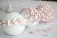 paper pomander - flower ball