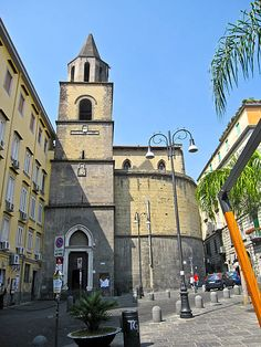 Chiesa di San Pietro a Majella. Church in Naples #Italy