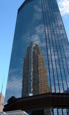 The IDS Center, opened in 1972 in Minneapolis, is the tallest building in Minnesota. The complex consists of four buildings which are joined by the seven-story Crystal Court.