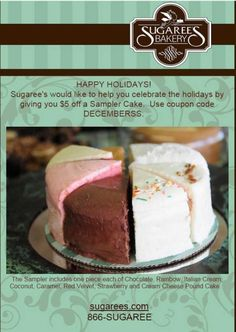 Email Marketing Tip: Showcase some of the different products you offer with a holiday sample sale.