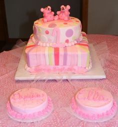 My cake for twins