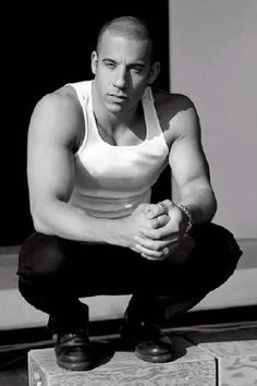 Vin Diesel: I love him in the fast and furious movies ;)