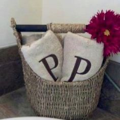 """Thirty-One Inspiration - """"Small Magazine Basket ... Looks great in a bathroom, just fill it with a few towels.  thirty-one magazine basket, Great gift ideas,  31"""""""