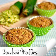 Zucchini Muffins #healthy #delish