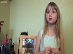 This little girl explains autism creatively.