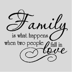 Family is everything quotes for the home, whenfamili wall, stuff, blend famili, wall quotes, word, families