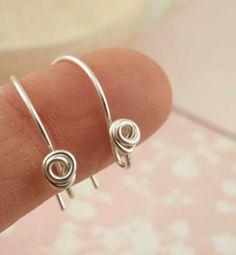 Argentium+Sterling+Silver+Ear+Wire+Sampler++by+UnkamenSupplies,+$24.00