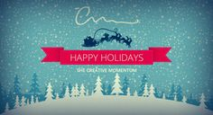 The Creative Momentum - Top Web Design Firm - Holiday 2013 Sign-Off http://wp.me/p2Jj7e-Fh