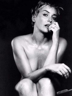 Sharon Stone for Esquire, 1999. S)