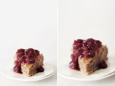 Hazelnut Honey Cake with Spiced Cranberry Chutney — Roost