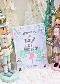fairi nutcrack, nutcracker party, sugar plums, nutcrack parti, birthday parties, sugar plum birthday, sugarplum fairi, sugar plum fairy, christma idea