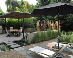landscape architecture, water features, patio, backyard, outdoor living rooms, outdoor spaces, landscape designs, garden, stepping stones