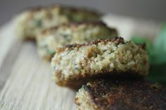 Indulge in Quinoa Cakes with basil and parmesan #food #recipe #cake