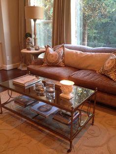 Providence Design- Houston living room.