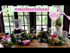 #MichaelsHaul Woodland Themed Party for @michaelsstores! You won't believe what we found!