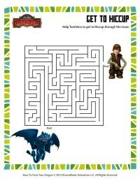 Free How to Train Your Dragon Printables, Downloads, and Crafts | SKGaleana